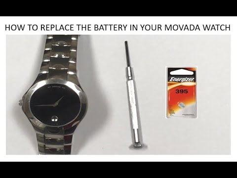 How To Replace The Battery In Your Movado Watch Fast And Simple
