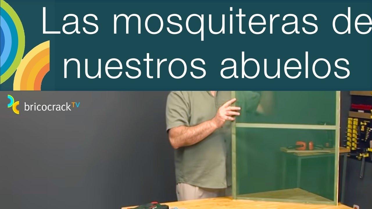 Hacer una mosquitera casera (Bricocrack) - YouTube
