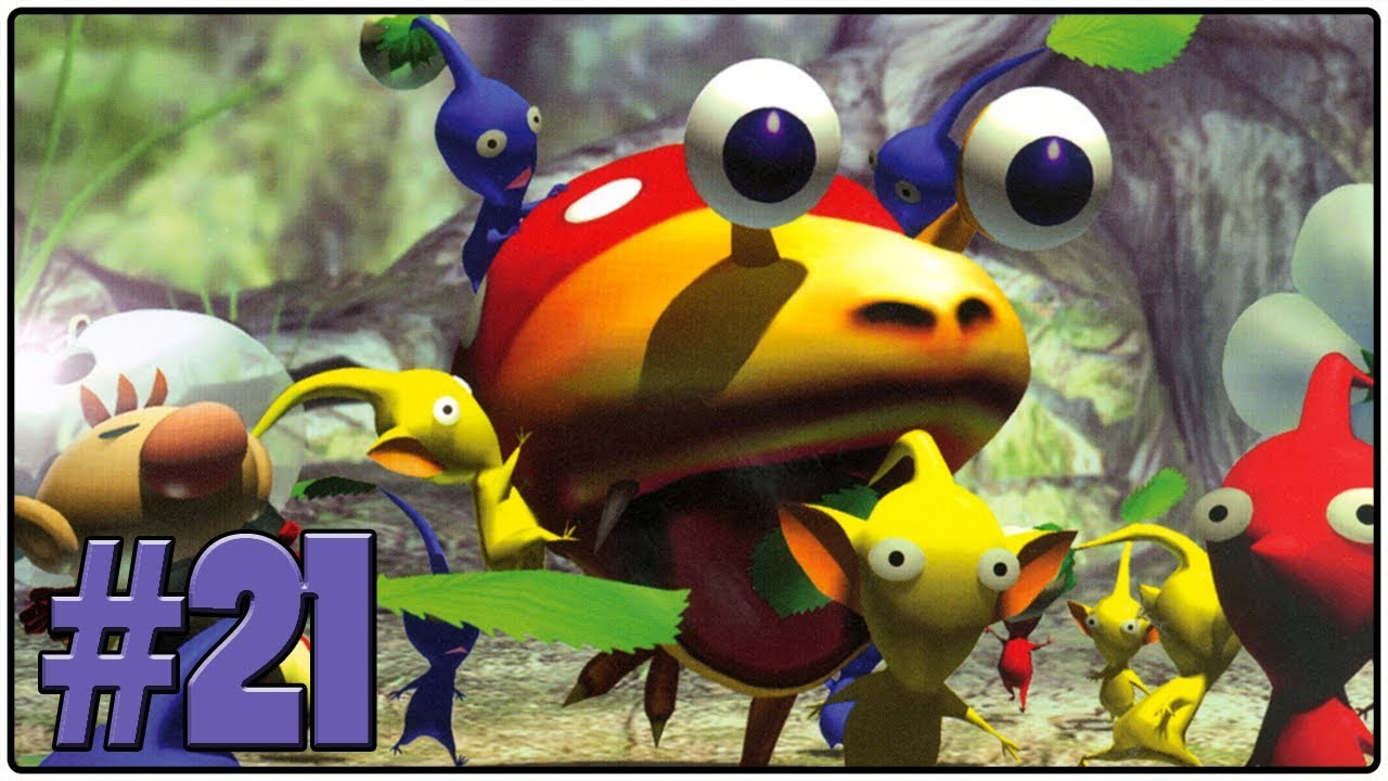 Pikmin Review Definitive 50 Gamecube Game 21 Splodinator Com