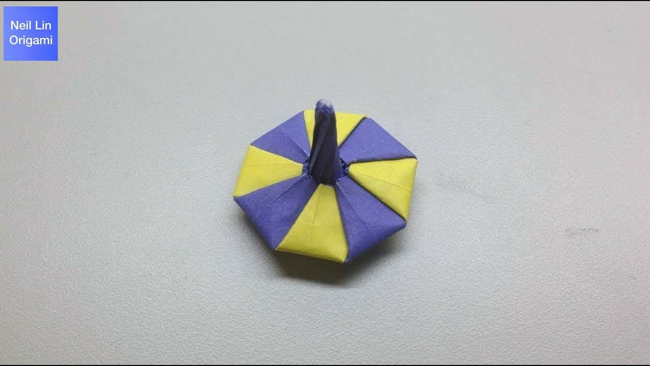 Origami spinning top tutorial youtube origami spinning top tutorial jeuxipadfo Images
