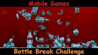 Bottle Break Challenge / Break The Bottles - Android Gameplay Game Review