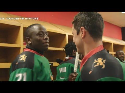 Sidney Crosby, Nathan MacKinnon surprise Kenya's only ice hockey team