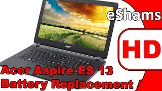 Acer Aspire ES 13 Battery Replacement AC14B13J