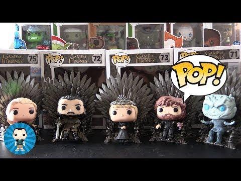 Game Of Thrones Iron Throne Funko Pops Unboxed!