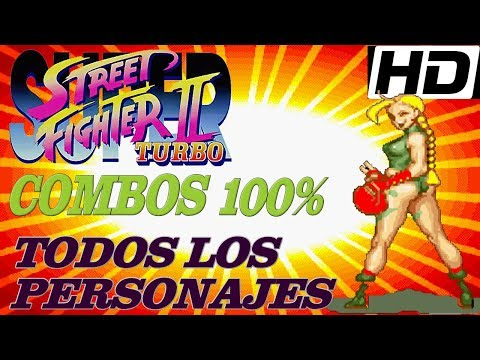 Super Street Fighter II Turbo 100% Death Combos All Characters️ By K' Will 2018
