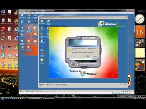 Windows ME running on Windows 2000 running on Vista SP2