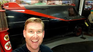 #941 HOLLYWOOD CAR MUSEUM - Real A-TEAM Van, James Bond, ELTON JOHN,  HANGOVER - LAS VEGAS (3/5/19)