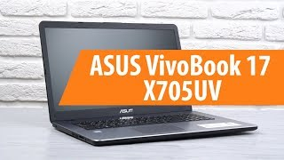 Розпакування ноутбука ASUS він 17 X705UV / розпакування зручний веб 17 X705UV