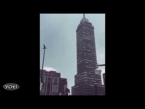Dramatic Mexico City Earthquake footage (Prt 2)
