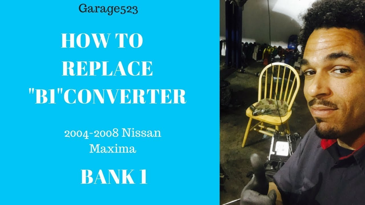 How To Replace Catalytic Converter >> How To Replace Catalytic Converter Nissan Maxima 04-08 ...