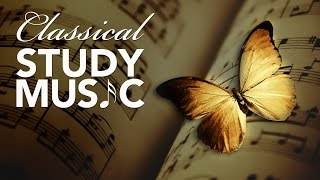 Study music for concentration, instrumental music, classical music, work music, mozart ♫e052