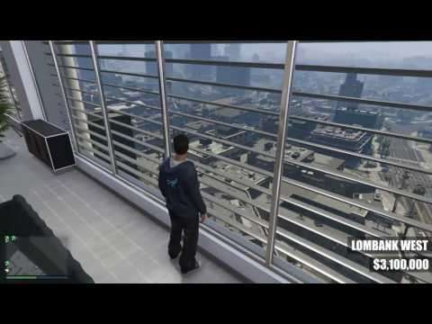 GTA V Online: All Executive Office Suite Views (No Commentary) [Finance and Felony Update]