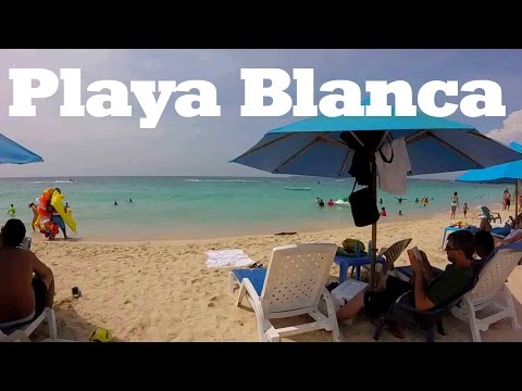Cartagena, Colombia: Beautiful PLAYA BLANCA (White Beach)