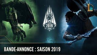 Bande-annonce : saison 2019 | League of Legends