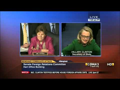Senate Foreign Relations Committee Hearing on Benghazi Consulate Attack