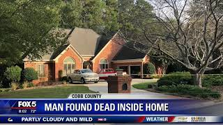 Man found dead in home