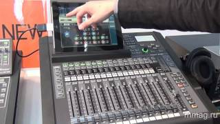 mmag.ru: Roland V-Mixer series & new M-200i digital mixer @ Musikmesse 2013