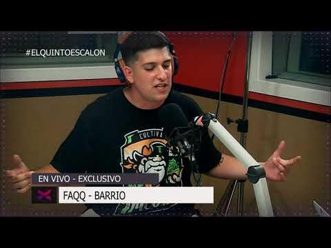 FAQQ - 'BARRIO' en VIVO - El Quinto Escalon Radio (11/12/17)