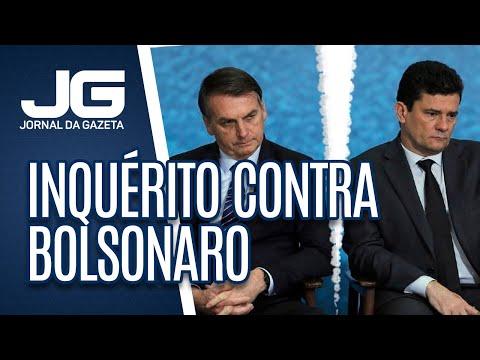 STF deve autorizar abertura de inquérito contra Bolsonaro