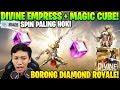 CUMA 2X SPIN! DIAMOND ROYALE DIVINE EMPRESS & MAGIC CUBE! - Garena Free Fire