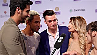 Simon Desue und Paola Maria im Interview mit Melissa Lee und Sami Slimani - Echo 2016 - VIVA