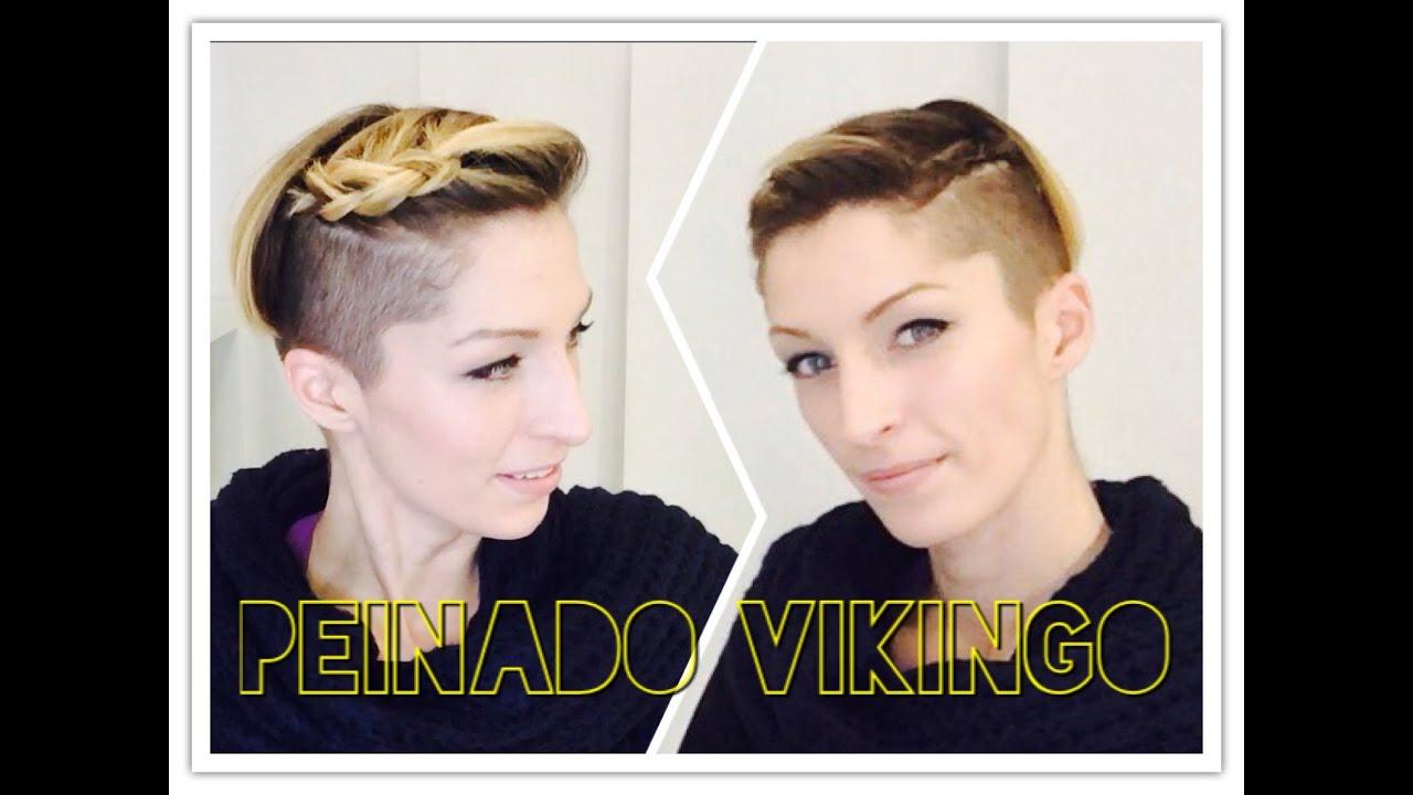 Trenzas Vikingas Viking Braids Youtube