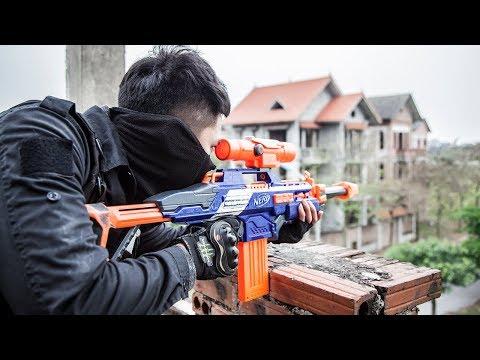 LTT Nerf War : SEAL X Attack Crime Group With Nerf Guns