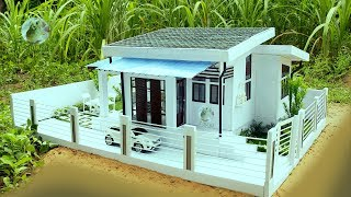 Building Most Beautiful House 🏡 Villa from Scratch 2018