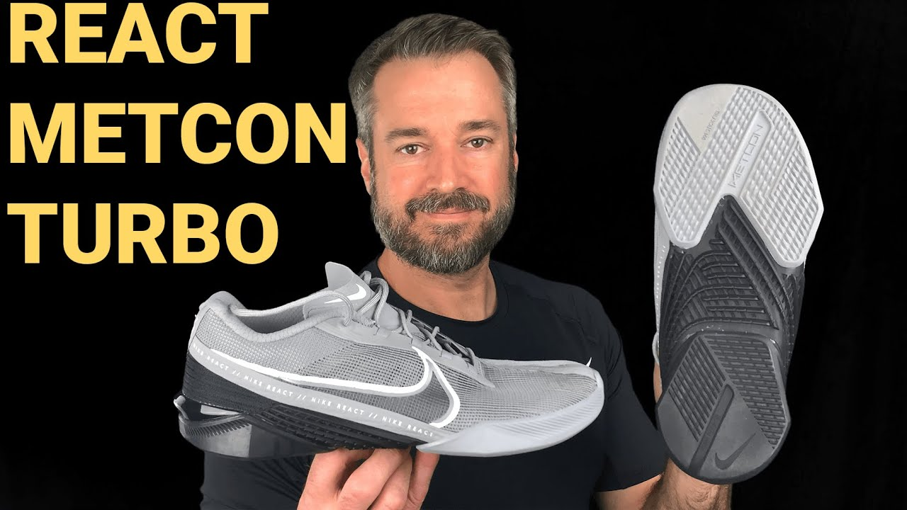 Nike React Metcon Turbo Shoe - First Look and First Workout