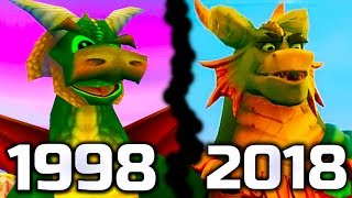 Spyro The Dragon Original VS Spyro Reignited Trilogy Comparisons of all 80 Dragons