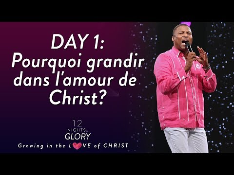 Pasteur Gregory Toussaint | 12 Nights of Glory  (Day -1) | Tu Aimeras Dieu de Tout ton Coeur | TG