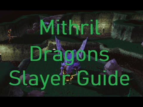 Runescape 3 Mithril Dragon Slayer Task Guide + 1m GP/HR