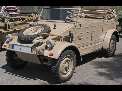 driving with a volkswagen Kübelwagen    militracks overloon 2015