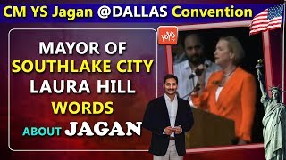 Mayor of Southlake City Laura Hill words about CM YS Jagan in Dallas | Jagan in USA | YOYOTV Channel