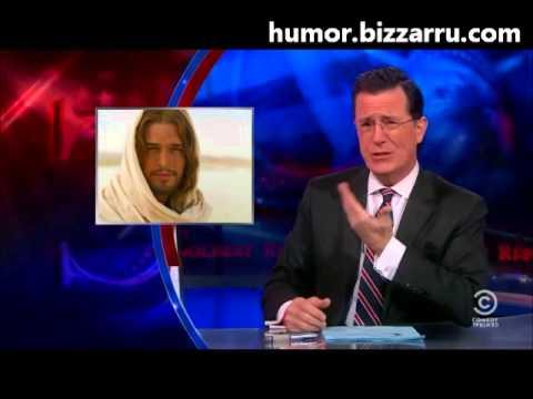 """Stephen Colbert diz que Diogo Morgado é """"bom de mais"""" para fazer de Jesus"""