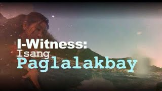 Others may think an episode of I-Witness is a journey, but to some,...