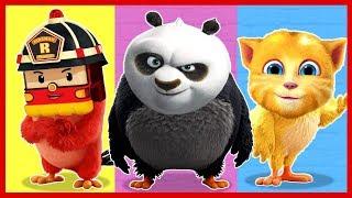 Неправильные Головы. Энгри Бердз. Angry Birds. Мультик.