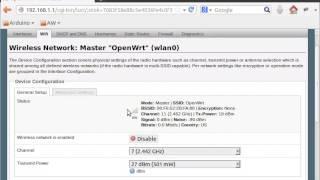 TL-MR3020 OpenWrt wireless client.