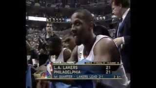 NBA finals 2001 LAL - 76-ers game 5 (русский комментарий)