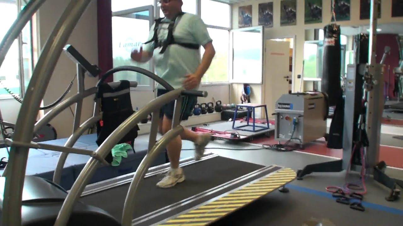 Laufband Training