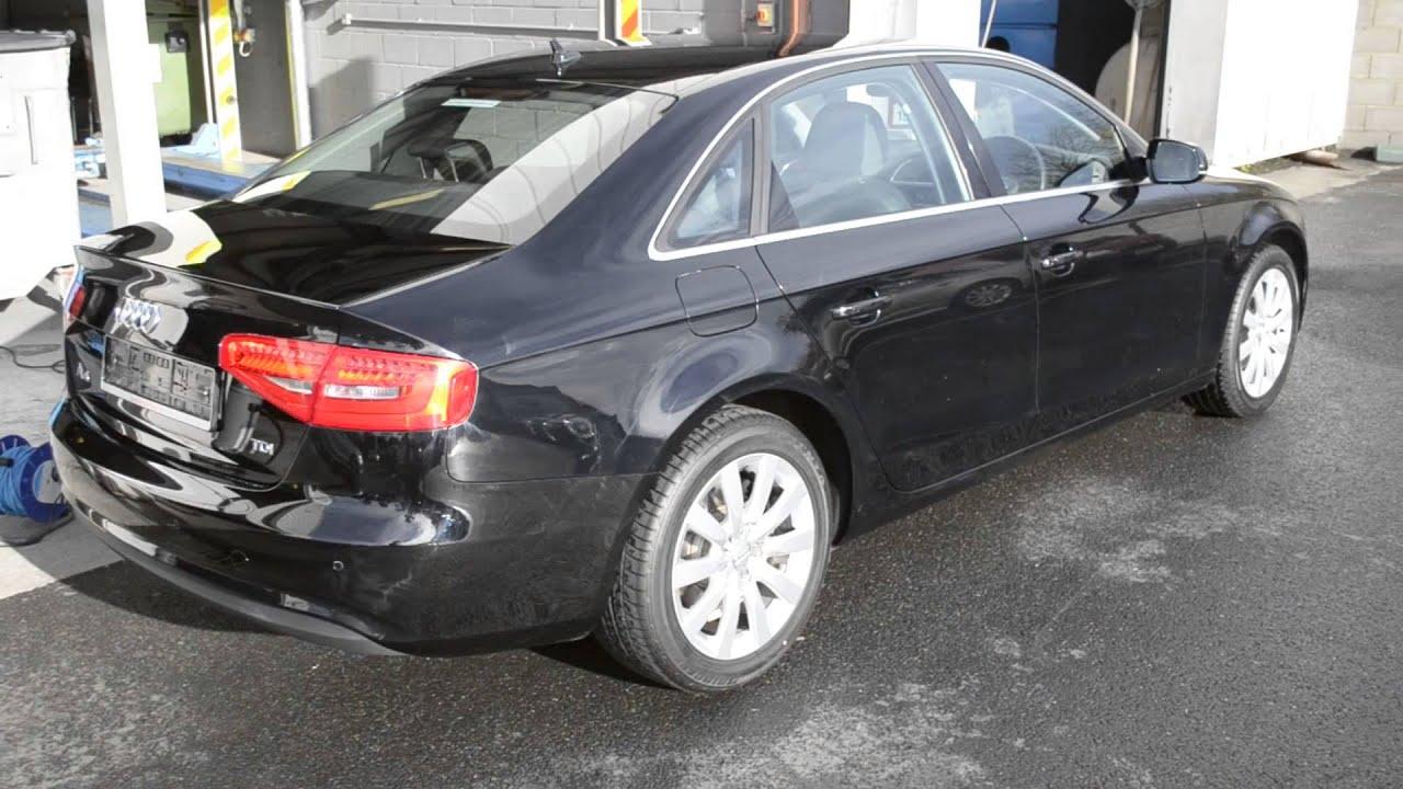 Single Stage Paint Correction Black Audi A Part Car Valet - Audi car valet