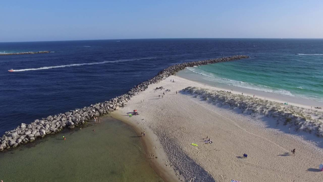 St Andrews State Park Kid Pool And Jetties