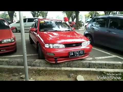 Mobil timor merah kalsel 1