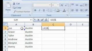 MS Excel Tricks: Fast Autofill