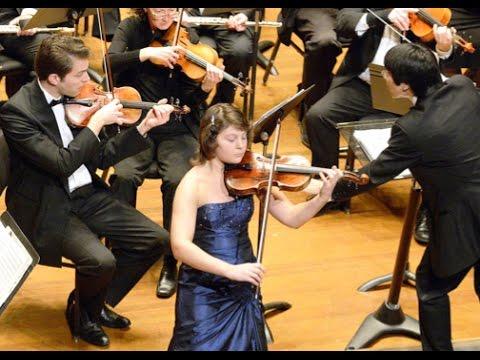 Mendelssohn Violin Concerto in E minor - Ilana Zaks and Taichi Fukumura Boston Civic Symphony