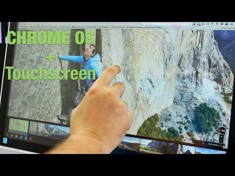 Touchscreen Chrome Os