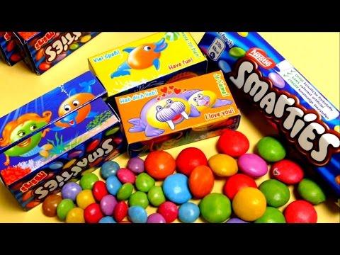 Smarties Mini - Tiny Chocolate Boxes