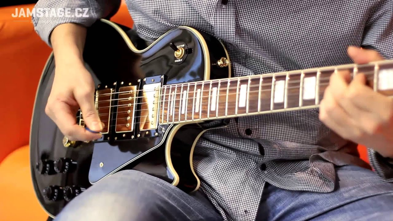 epiphone les paul black beauty 3 aivn  [ 1280 x 720 Pixel ]