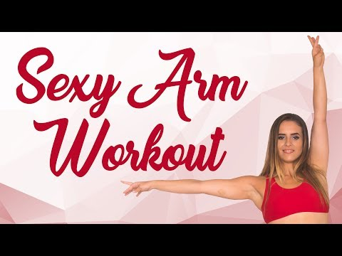 Toned Strong Arms at Home! 10 Minute  Beginner Ballet Workout, Learn Dance Positions