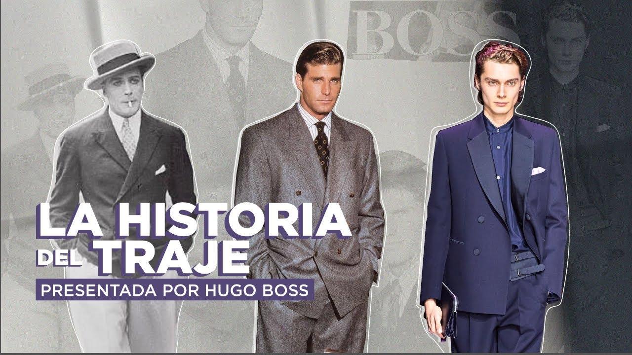 La evolución del traje masculino